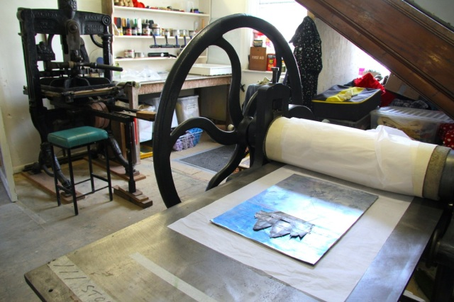 albion & etching presses