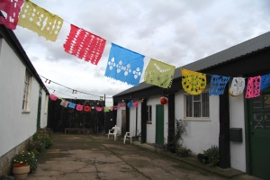 Papel picado cut-out banners