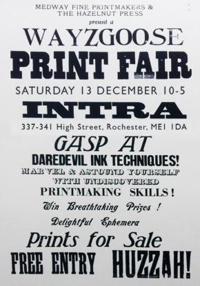 Wayzgoose Print Fair