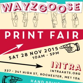 Wayzgoose Print Fair2015