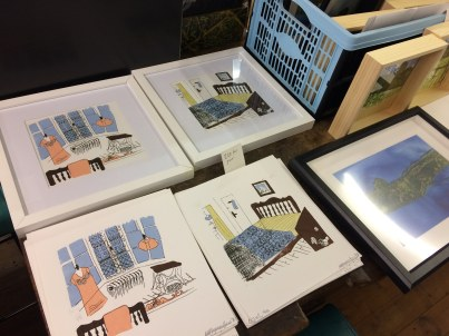 Megan Seymour Jones screen prints prints