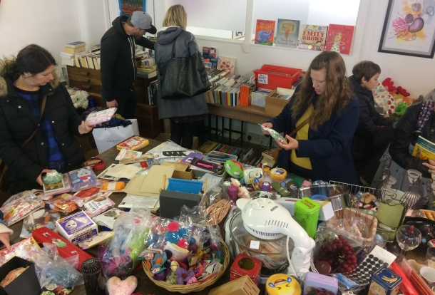 Jumble Sale books, crafts, kitchenware