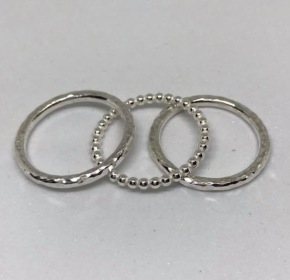 Stacking rings workshop with Jana BJewellery