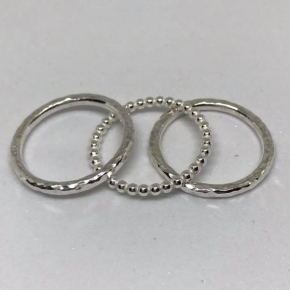 Stacking rings workshop with Jana B Jewellery